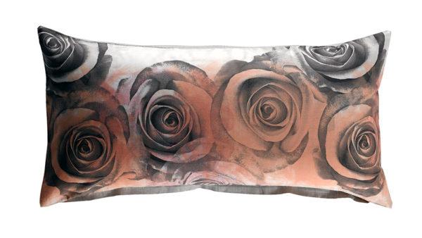 AVENTURA Satin-Wende-Bettwäsche 3114-Rose Kissen